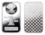 1 OZ Walking Liberty Design Silver Bar