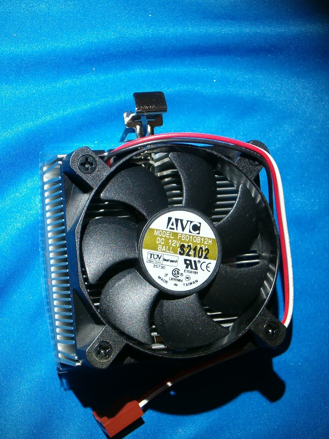 AVC 12V Socket 7 Socket 370 CPU ball bearing  fan
