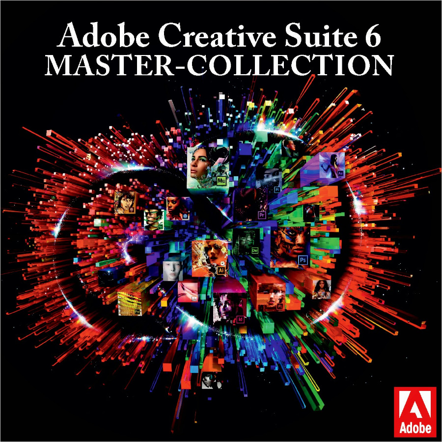 Adobe – Adobe CS6 Master Collection Genuine Key Wi...
