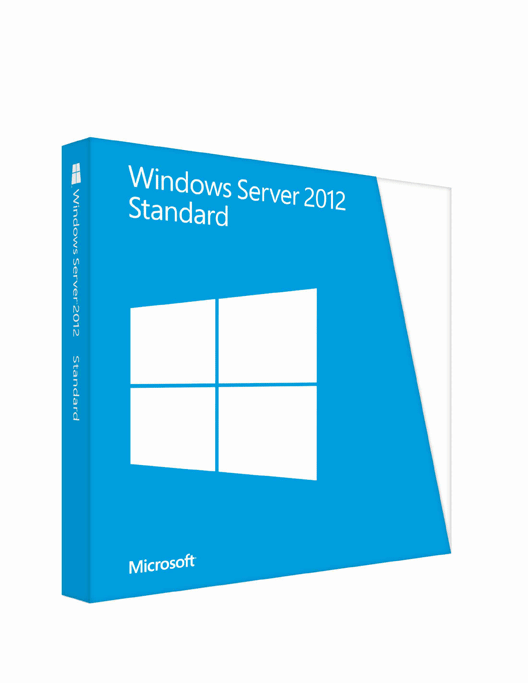 Windows - Windows Server 2012 Standard 64-bit (No R2)