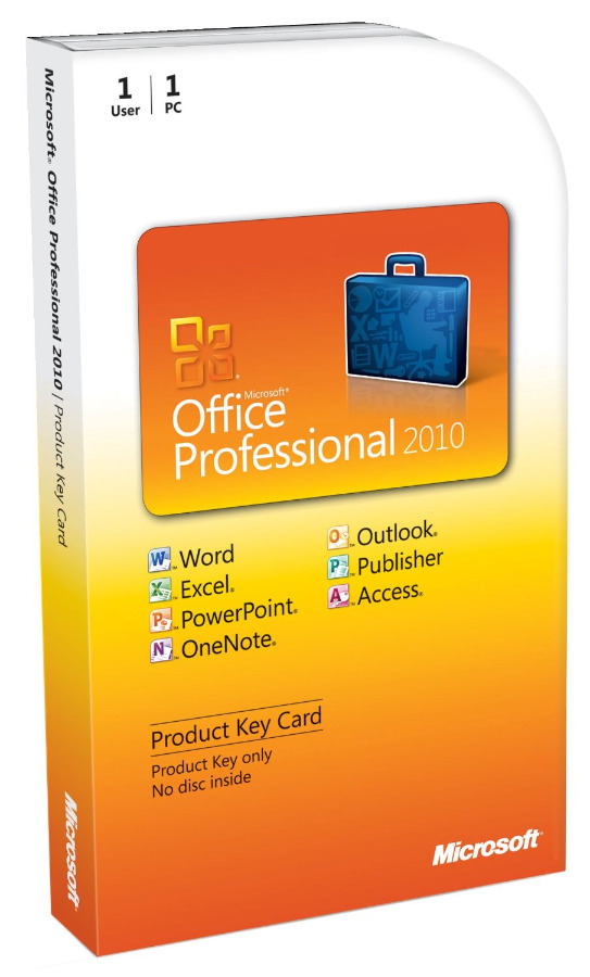 Office - Office 2010 Professional (not Pro Plus)