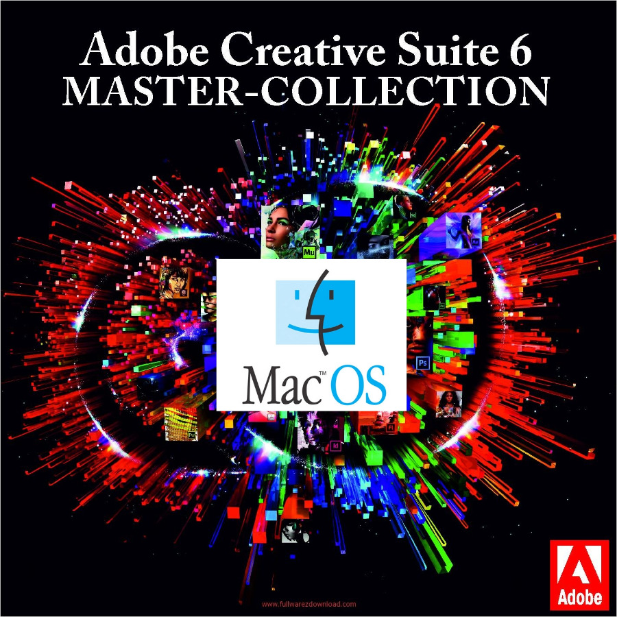 Adobe – Adobe CS6 Master Collection Genuine Key MAC