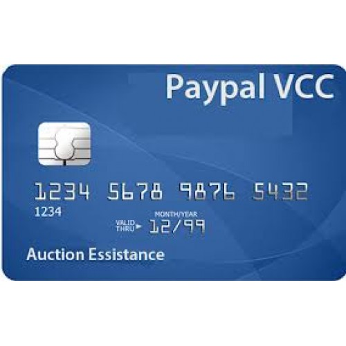 Virtual Credit Card for Paypal Verification LEGIT