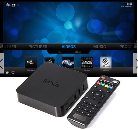 MXQ S805 1GB/8GB KODI 14.2 Quad Core Android 4.4 1080P
