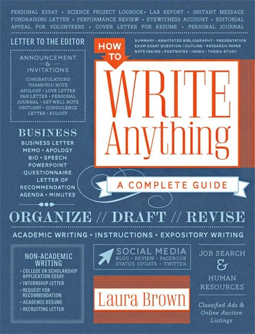How To Write About Anything