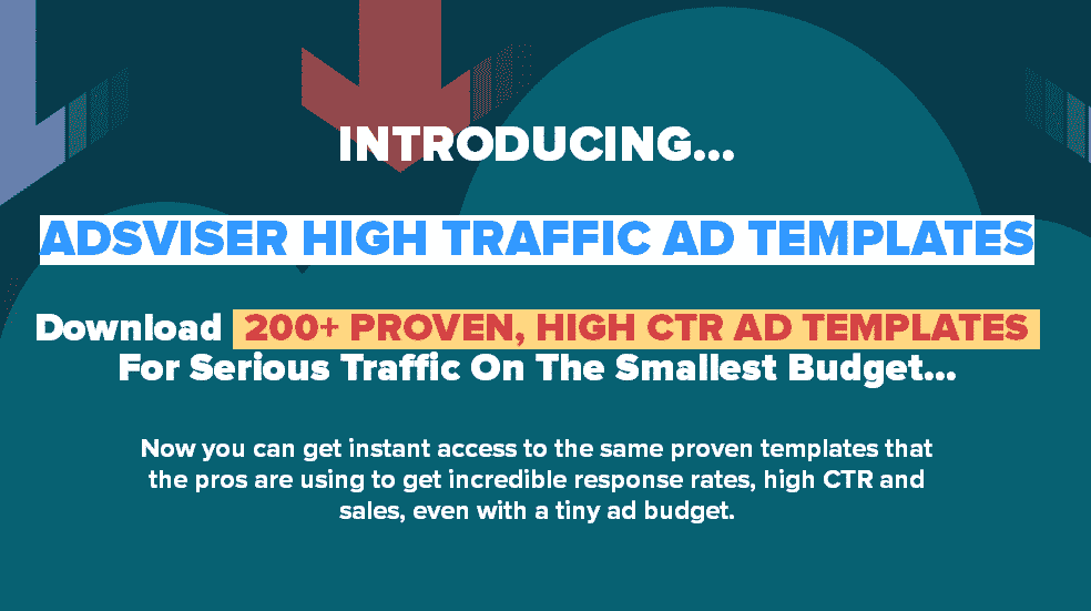 ADSVISER HIGH TRAFFIC AD TEMPLATES