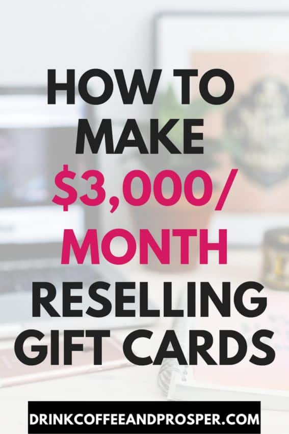 Reselling Gift Cards - Work from Home - Lifestyle Busin