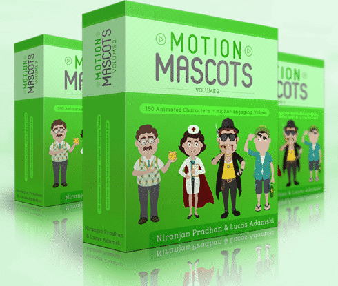 Motion Mascots V2 (Animated Video Characters)