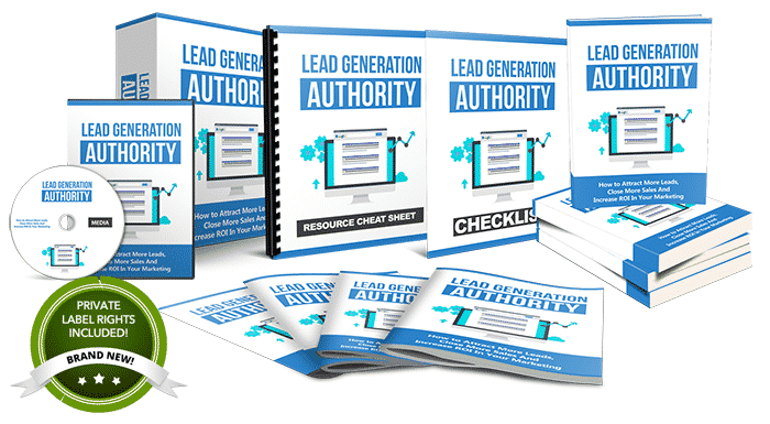 Unstoppable PLR - Lead Generation Authority Gold