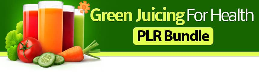 Mega Done-for-You Juicing PLR Bundle