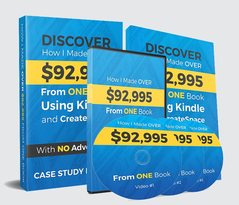 Discover How I Made Over $92,995 From One Book