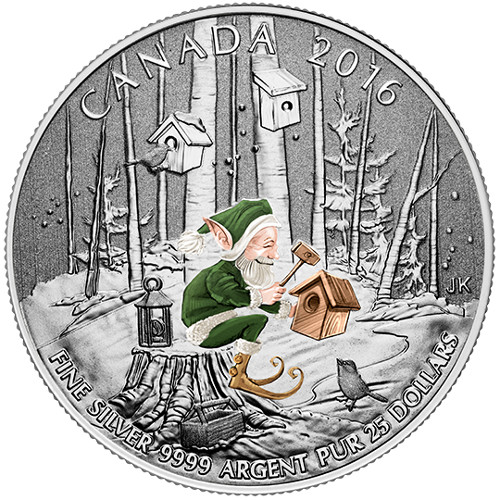 $25 Fine Silver Coin – Woodland Elf (2016)