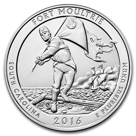 2016 Ft Moultrie at Ft Sumter National Monument 5 oz Si