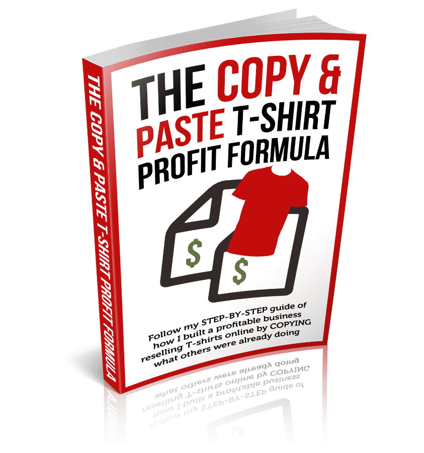 The Copy and Paste T-Shirt Profit Formula