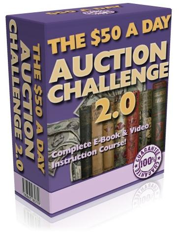The $50 A Day - Auction Challenge 2.0