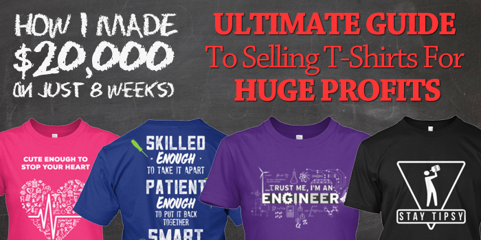 How I Make 10000$/Month Selling T-shirts On Teespring