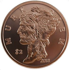 Zombucks® Murk Diem 1 oz Copper Round