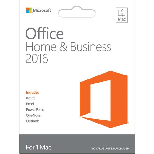 Office – Office 2016 Home and Business for Mac GEN...