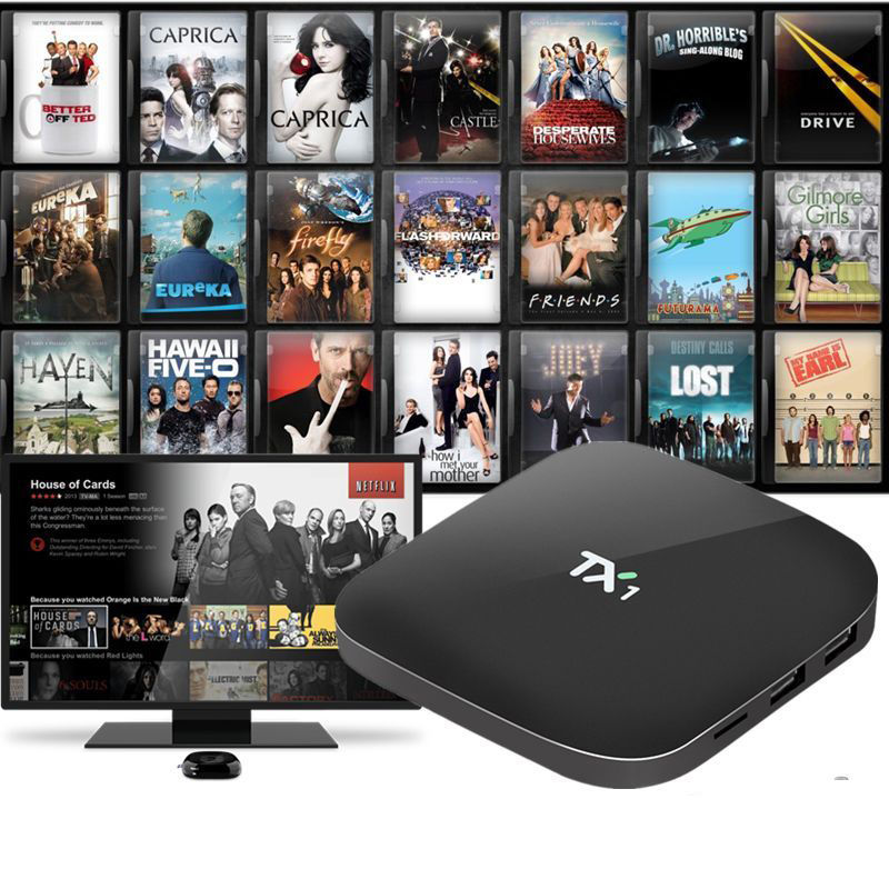 TX1 Amlogic S805 4K TV BOX Quad Core Android 4.4 8G 16.