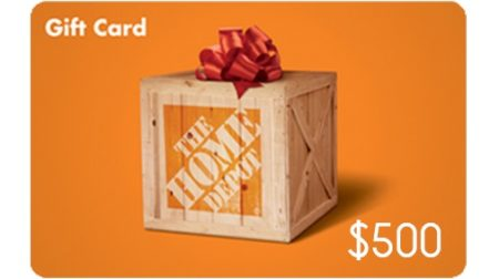 Home Depot $500 Worth at 60% of Normal Price. Pay $300