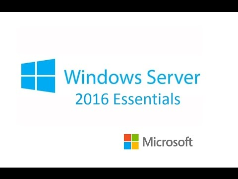 Windows Server 2016 - Windows Server 2016 Essentials