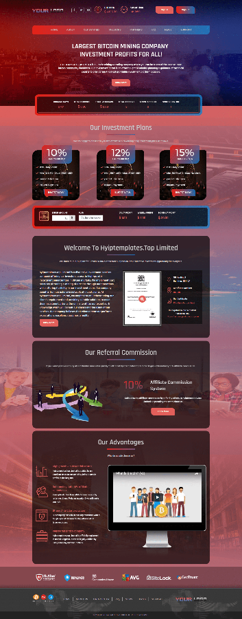 GC Hyip Template Premium 23 [customize]