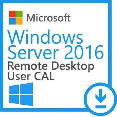 Windows - Windows Server 2016 RDS 50 user connections