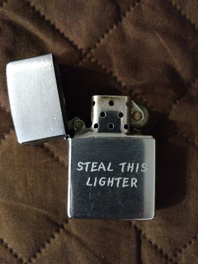 Zippo Steal This Lighter