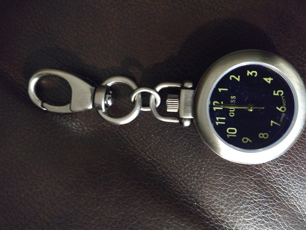 Guess pocket watch