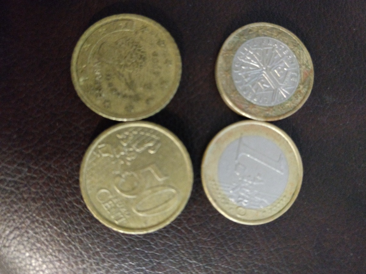 €3 in coins