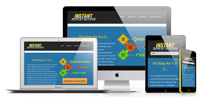 Instant Repeat Buyers System