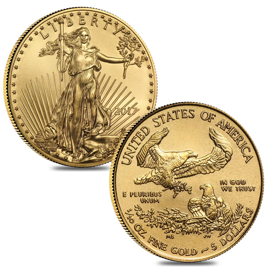 2017 1/10 oz American Gold Eagle