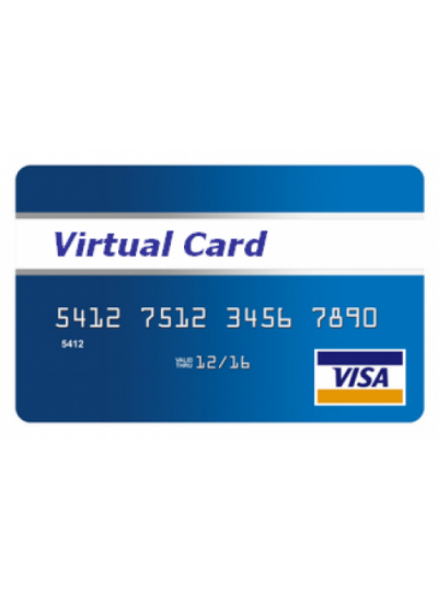 Sale of Virtual Card (VCC) Verify paypal, Aws and other