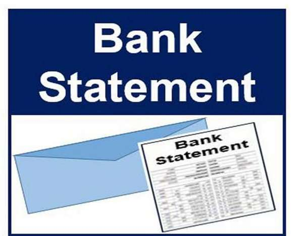Bank statement ( 9 banks package in PDF template)