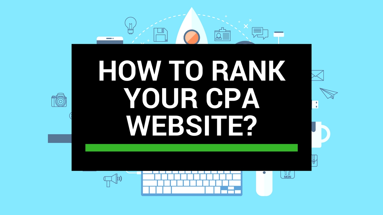 How to rank your CPA website?
