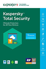 Kaspersky total security 2018 - 3 devices - 3 Months