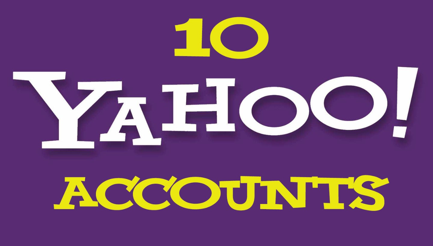 10 Yahoo Pva Accounts