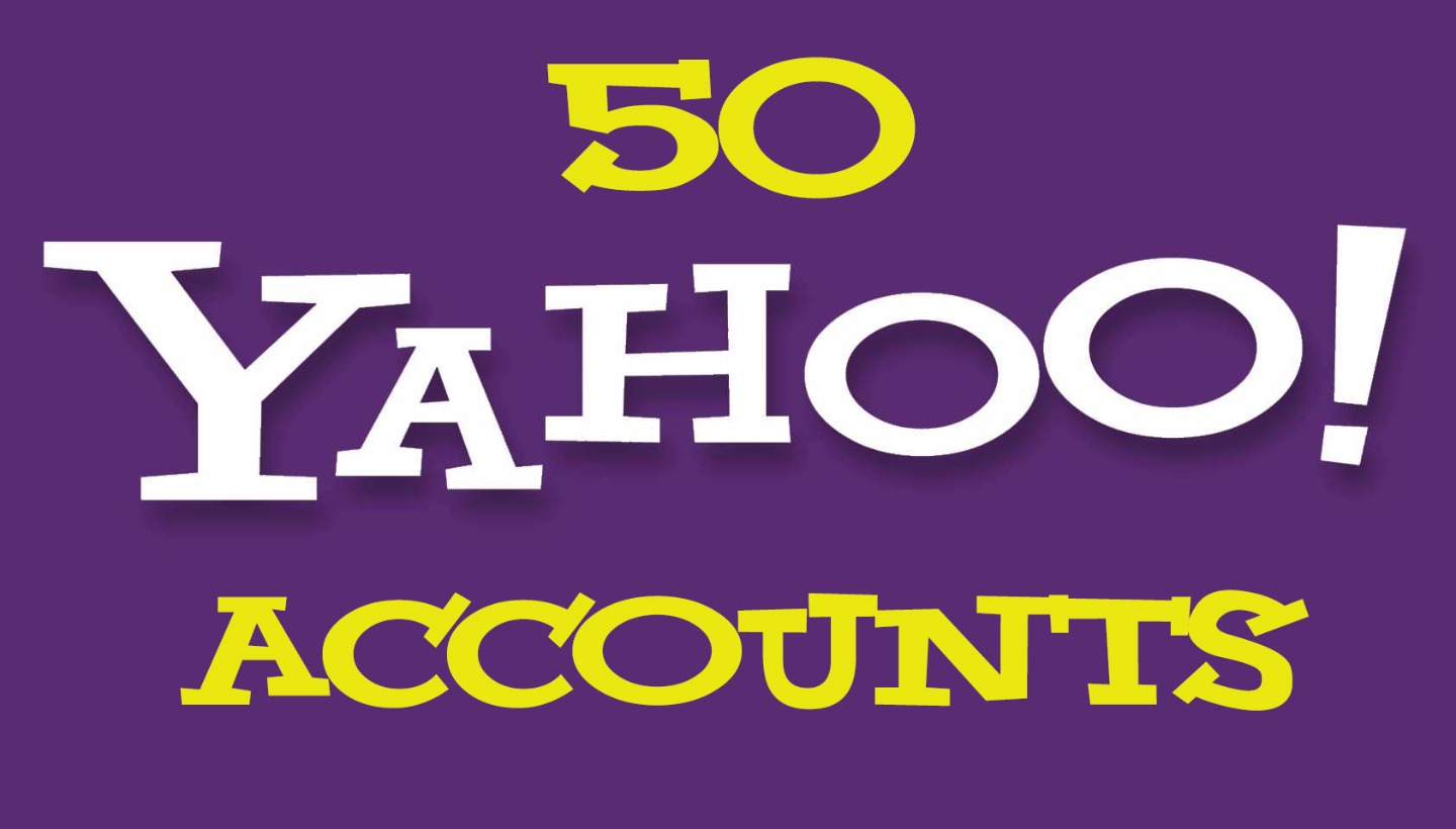 50 Yahoo Pva Accounts