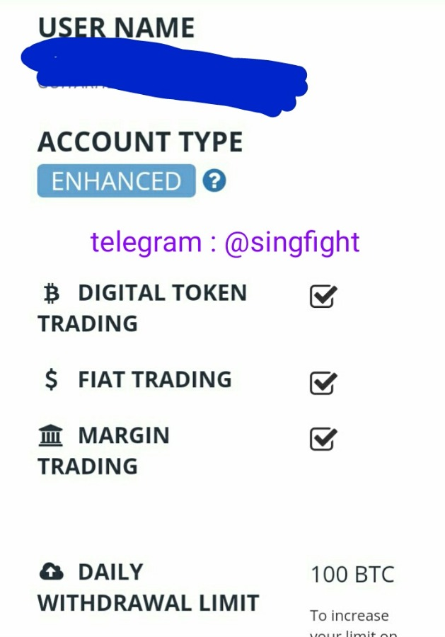 Wts bittrex enchached verified account