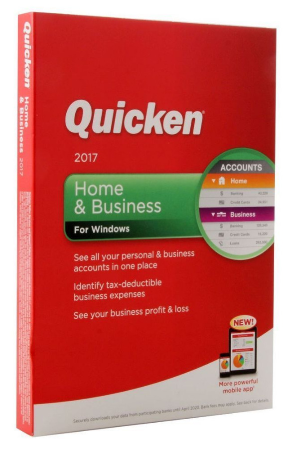 Quicken 2017 - Home & Business/Rental Property B...