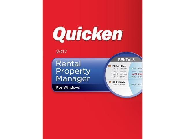 Quicken 2017 - Home & Business/Rental & Turb...