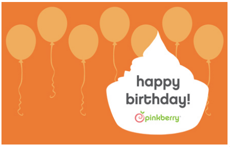 $100 Pinkberry E-Gift Card ( Instant Delivery )