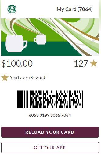 $1000 Starbucks GC ( email delivery )