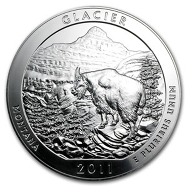 2011 5 oz Silver ATB – Glacier National Park, MT