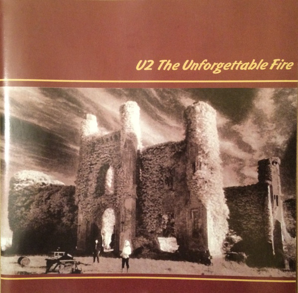 U2 ‎– The Unforgettable Fire CD, Album, Unofficial