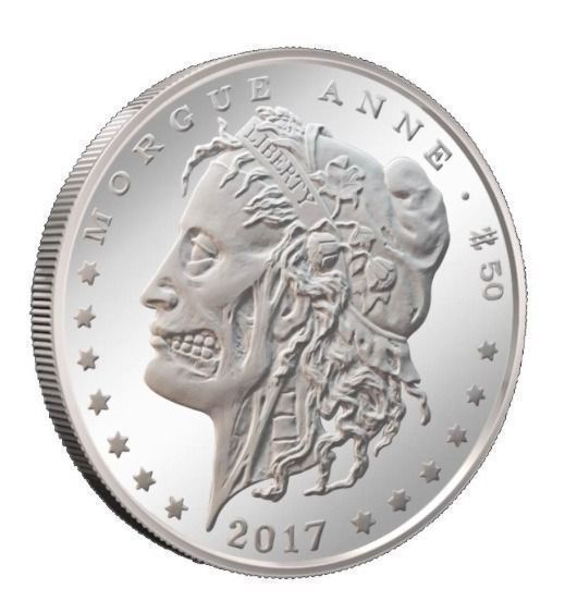 Zombucks™ Morgue Anne 1 oz Silver Round