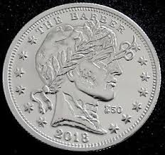 CONTAINED – Zombucks™ The Barber 1 oz Silver Round