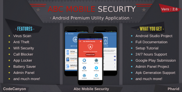 Mobile Security – Antivirus, Anti Theft, Wifi Sec....