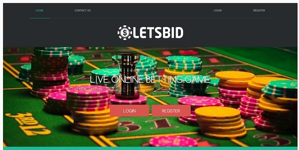 LetsBID - Live Betting Management System