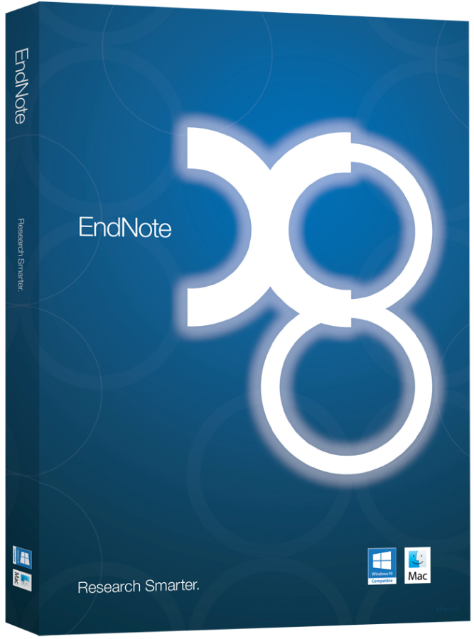 EndNote X8 Reference Manager for Windows and Mac